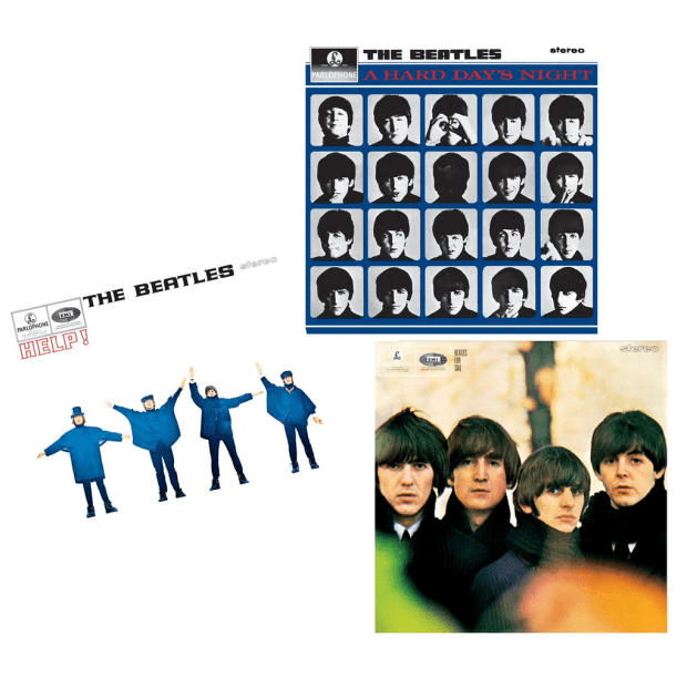 The Early Beatles Vinyl Bundle - A Hard Day's Night, Beatles For Sale, and Help! #1