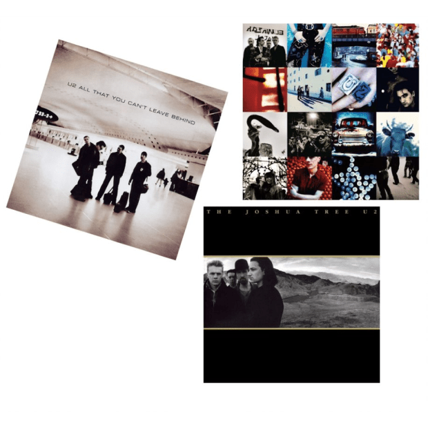 The U2 Vinyl Collection Bundle - Achtung Baby, All That You Can't Leave Behind and the Joshua Tree (30th Anniversary) #1