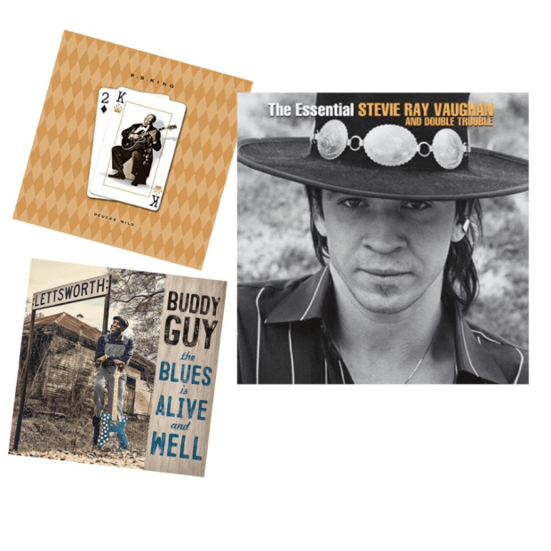 Kings of Electric Blues Vinyl Bundle - The Essential Stevie Ray Vaughan & Double Trouble, Deuces Wild and The Blues Is Alive And Well #1