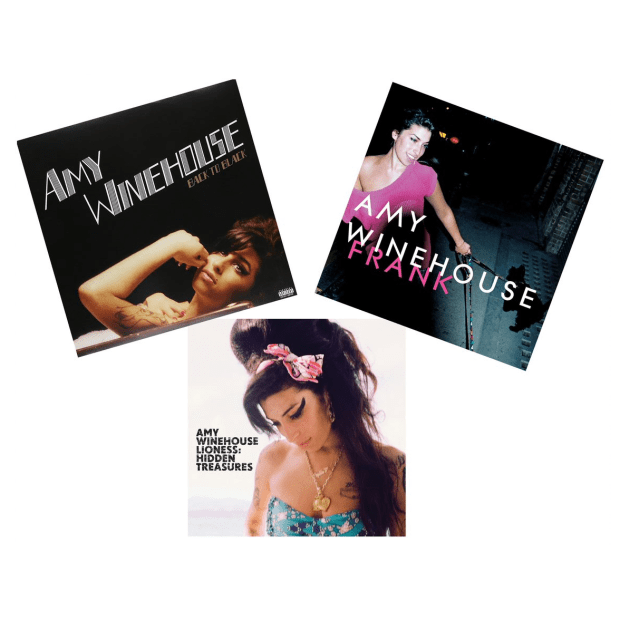 The Amy Winehouse Vinyl Collection - Back To Black, Frank and Lioness: Hidden Treasures #1