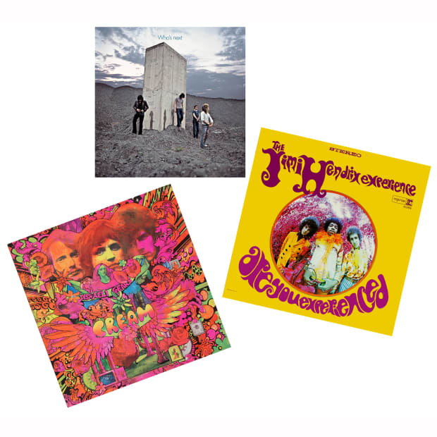 The Guitar Heroes Vinyl Collection - Are You Experienced, Disraeli Gears and Who's Next #1