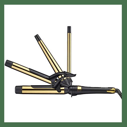 BaByliss PRO® Graphite + Titanium Ionic Curling Iron Set #1