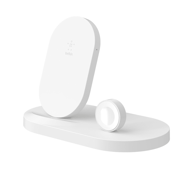 Belkin BoostUp™ Wireless Charging Dock for iPhone + Apple Watch + USB-A Port - White #1