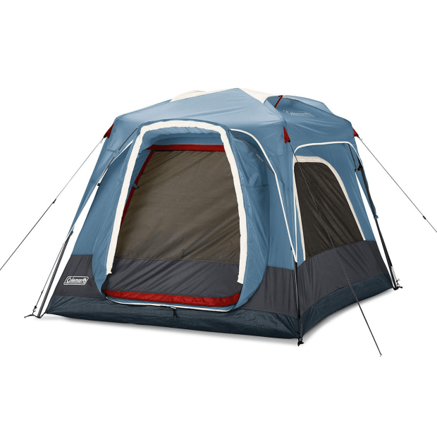 Coleman 3-Person Connecting Modular Tent with Fast Pitch Setup - Blue #1