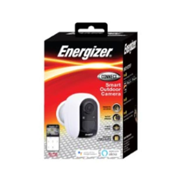 Energizer Smart Outdoor Battery Cam - White