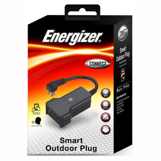 Energizer Smart Outdoor Plug