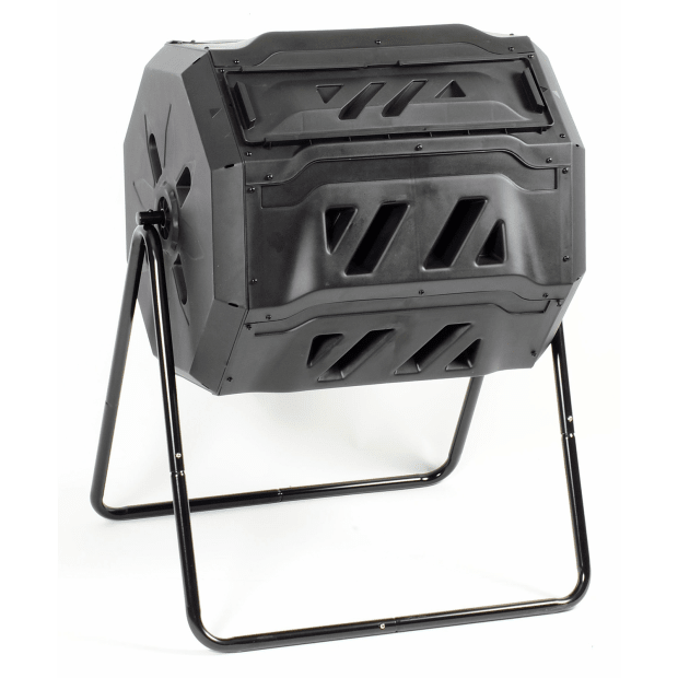 KoolScapes 42-Gallon Rotary 2 Chamber Composter #1