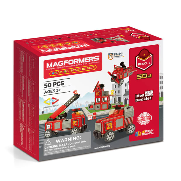 Magformers® Amazing Rescue 50-Piece Set #1