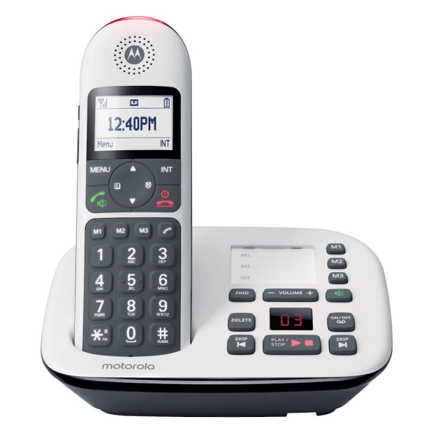 Motorola Expandable Cordless Phone System #1