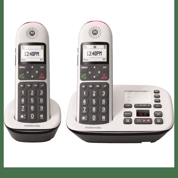 Motorola Expandable Cordless Phone System - 2 Handsets #1