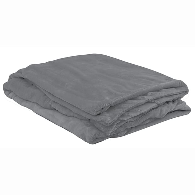 ObusForme® Deluxe Weighted Blanket - Grey - 12lbs #1