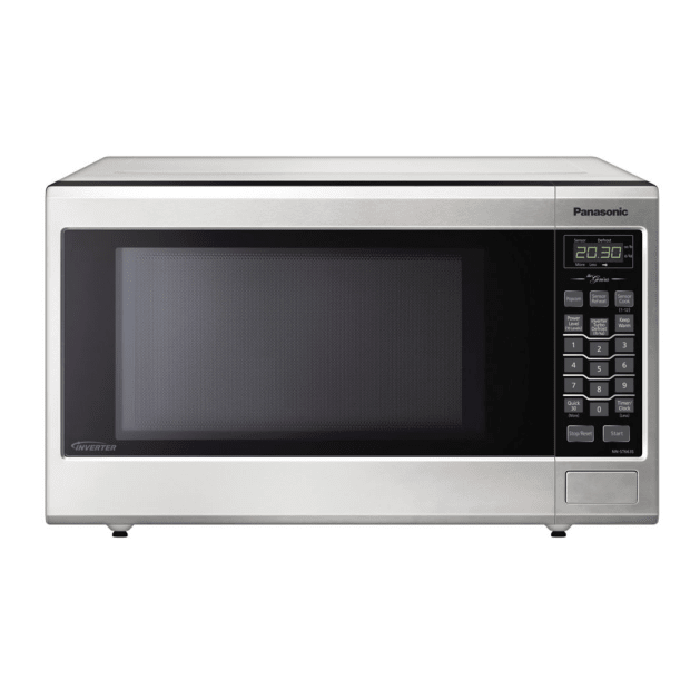 Panasonic Mid-Size Genius® Inverter® Stainless Steel Microwave #1