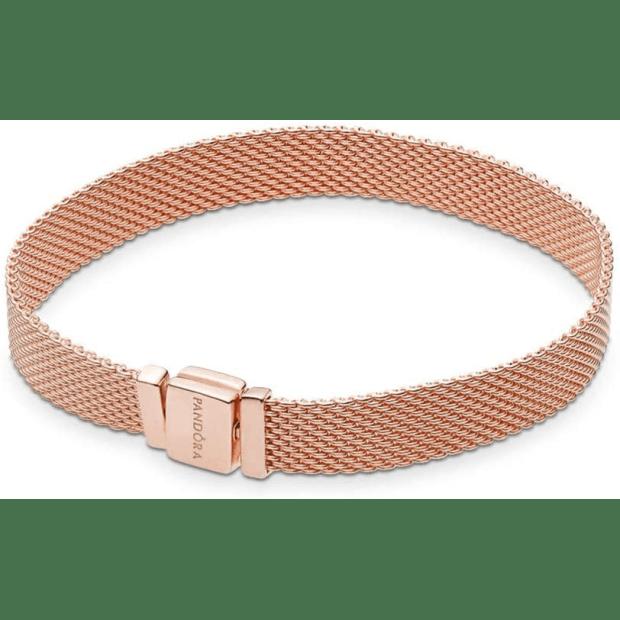 Pandora Reflexions Mesh Bracelet - Rose Gold - 7.5'' (19cm) #1