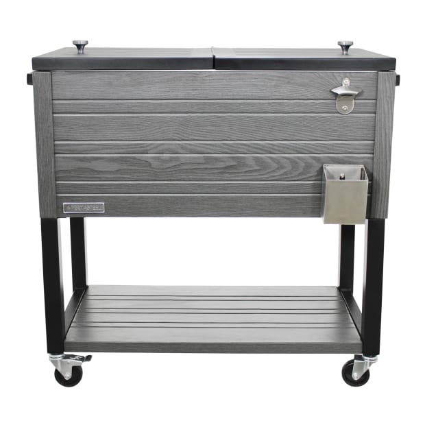 Permasteel 80-Quart Rustic Style Patio Cooler #1