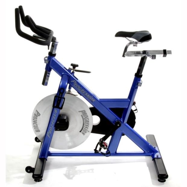 Progression Pro Club 24 Upright Spin Bike #1