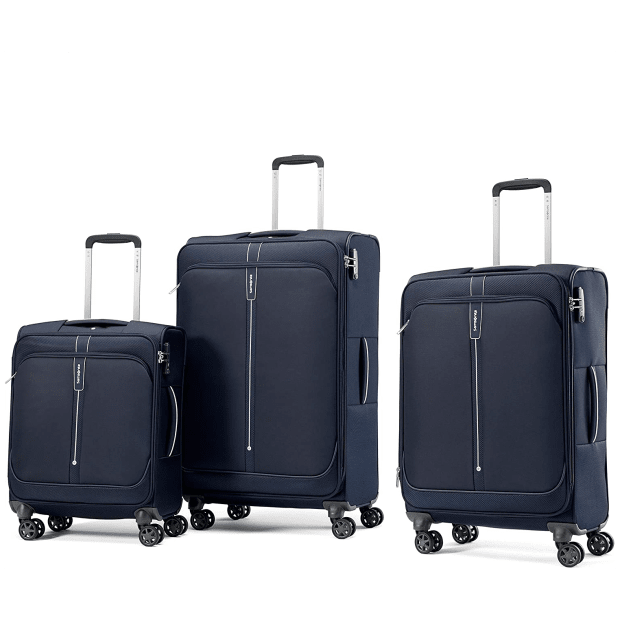 Samsonite Popsoda Spinner 3-Piece Set - Dark Blue