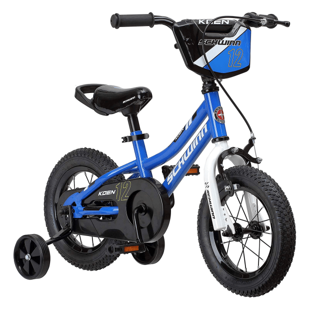 Schwinn Koen Boy's Bike with SmartStart - 12'' Wheels - Blue #1