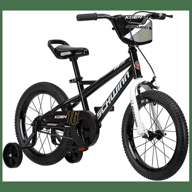 Schwinn Koen Boy's Bike with SmartStart - 16'' Wheels - Black #1