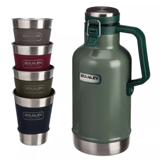 Stanley Growler Gift Set - Hammertone Green #1