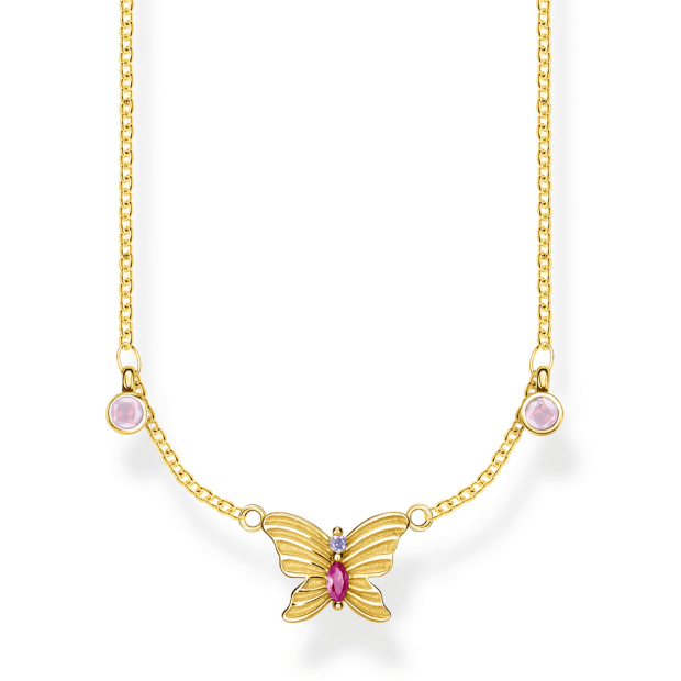 Thomas Sabo Butterfly Necklace - Gold #1