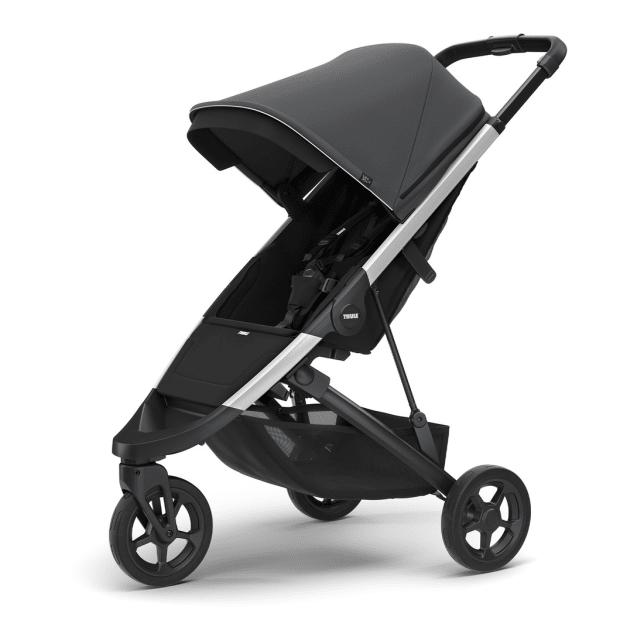 Thule Spring Stroller - Aluminium/Shadow Grey #1