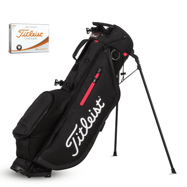 Titleist Players 4 Stand Bag with Titleist Velocity Golf Balls #1