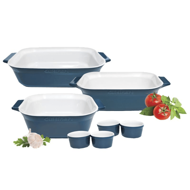 Cuisinart® Classic Collection 7-Piece Ceramic Bakeware