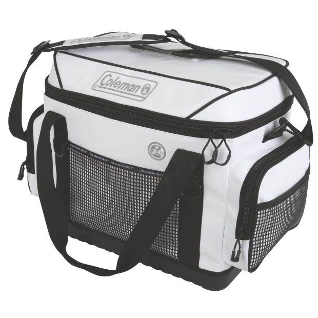 Coleman 42 Can 36-Hour Marine Soft Cooler - White #1