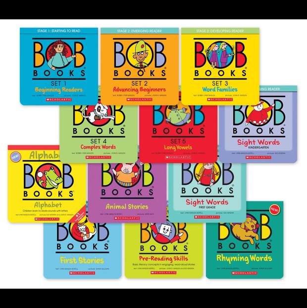 Bob Books: 12 Book Bundle