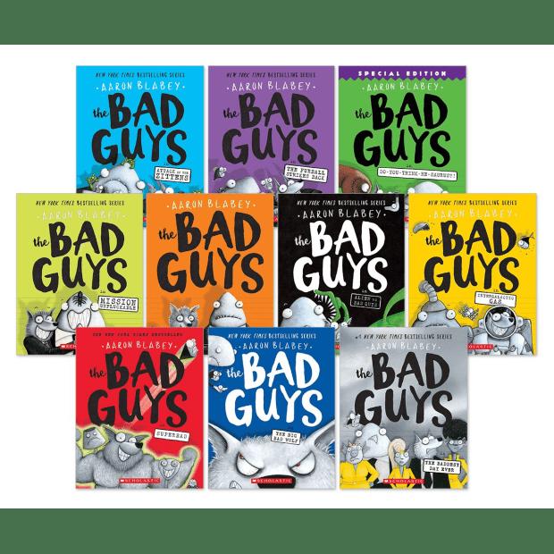 The Bad Guys: 10 Book Bundle