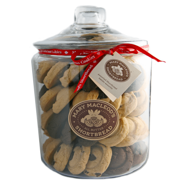 Mary Macleod's Shortbread 1 Gallon Cookie Jar Assorted