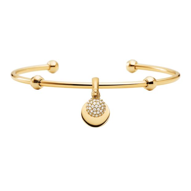 Michael Kors Sterling Silver Charm Bracelet - Gold #1