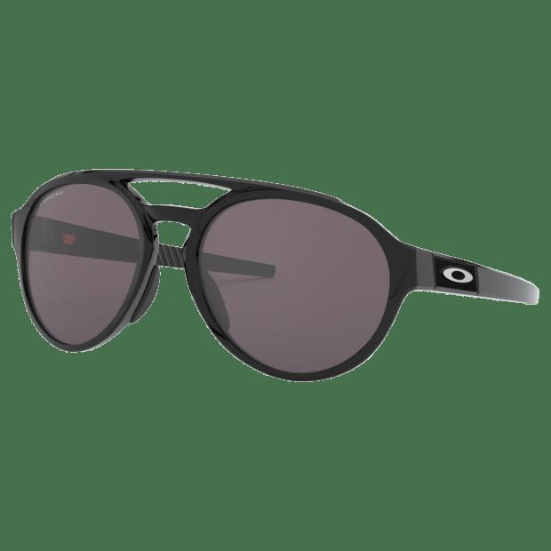 Oakley Forager Sunglasses - Polished Black Frame/Prizm Grey Lenses #1