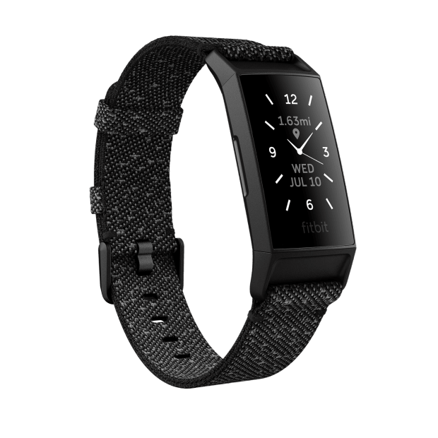 Fitbit Charge 4 Special Edition Fitness Tracker - Granite Reflective Woven #1