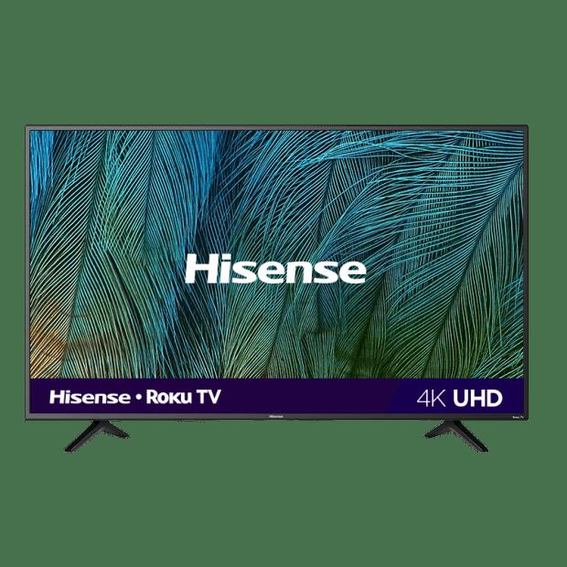 "Hisense R6109 Series 50"" 4K UHD ROKU SMART TV #1"