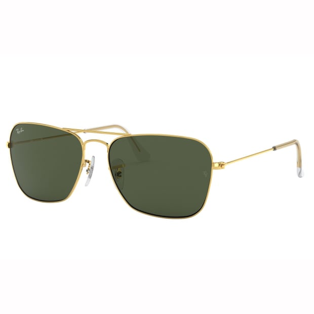 Ray-Ban Caravan Sunglasses - Arista/Crystal Green