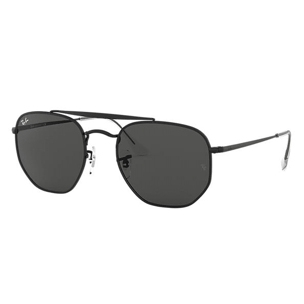Ray-Ban Marshal Sunglasses - Black/Dark Grey Classic #1