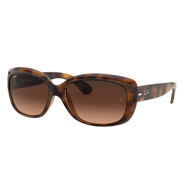 Ray-Ban Jackie Ohh Sunglasses - Tortoise/Pink-Brown Gradient #1