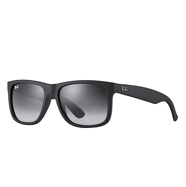 Ray-Ban Justin Classic Sunglasses - Matte Black/Grey Gradient #1