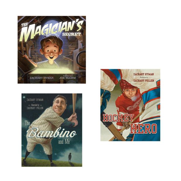 Zachary Hyman Childrens Books Bundle #1
