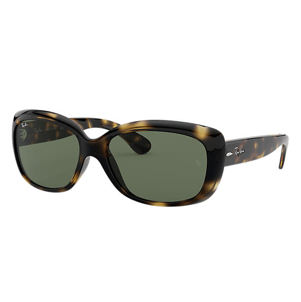 Ray-Ban Jackie Ohh Sunglasses - Tortoise/Green Classic G-15 #1