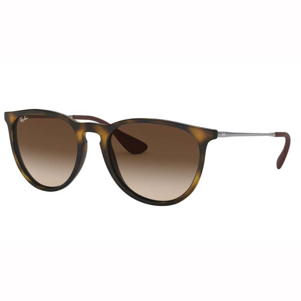 Ray-Ban Erika Classic Sunglasses - Gloss Tortoise/Brown Gradient