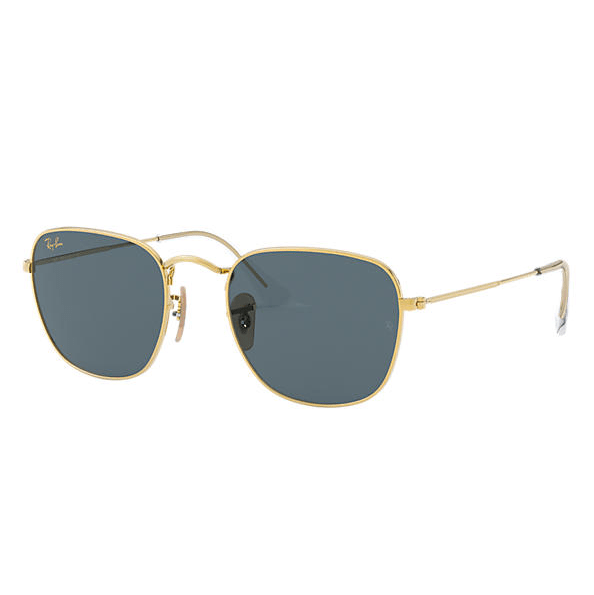 Ray- Ban Frank Legend Gold Sunglasses - Gold/Blue Classic #1