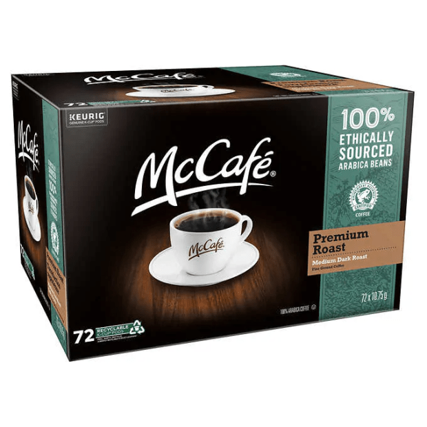 Keurig McCafé Premium Roast Coffee K-Cup Pods - Pack of 72 #1