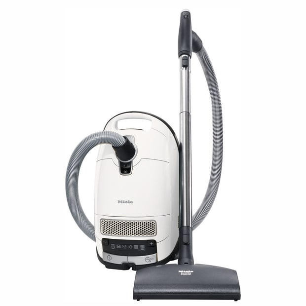 Miele Complete C3 Excellence Canister Vacuum - Lotus White #1