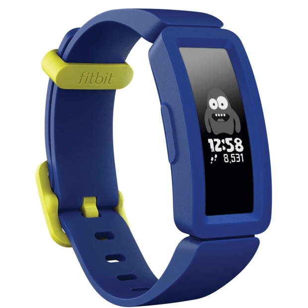 Fitbit Ace 2 Activity Tracker for Kids - Night Sky/Neon Yellow #1