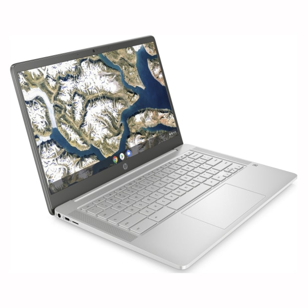 HP 14a-na0020ca 14'' Chromebook - Includes HP 2-Year Pickup and Return Notebook Service