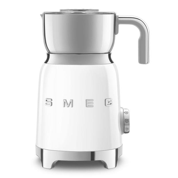SMEG 50's Retro Style Aesthetic Milk Frother - White #1
