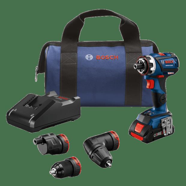 Bosch 18V Flexiclick® Chameleon 5-In-1 Drill/Driver System