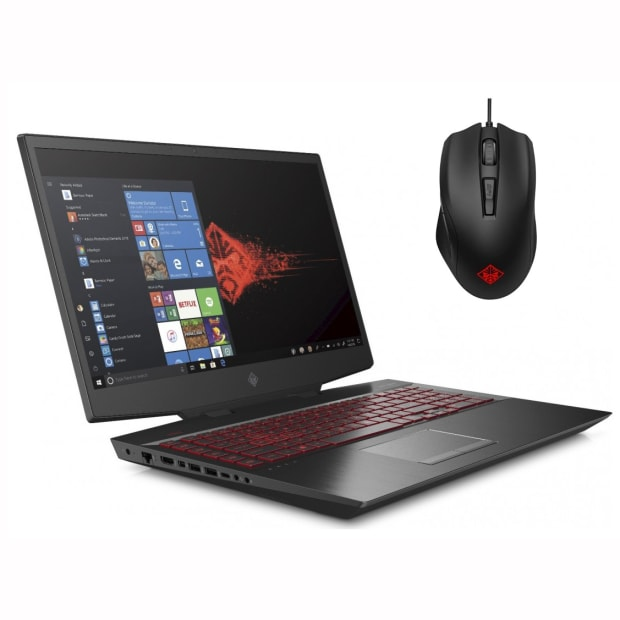 HP OMEN 17-cb0020nr 17'' Laptop with HP OMEN Gaming Mouse #1